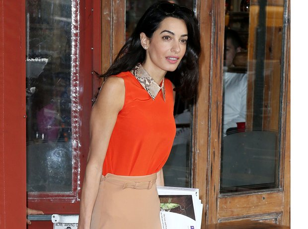 Amal Clooney in New York