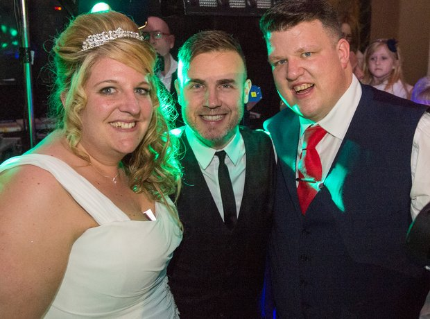 Gary Barlow surprises Danielle Jones