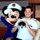 Image 3: Michael Buble with Mickey Mouse