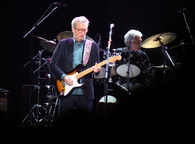 Eric Clapton paid tribute to Joe Cocker and Ben E.