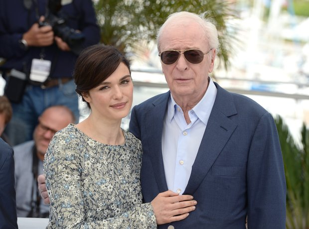 Rachel Weisz and Michael Caine attend Cannes Film