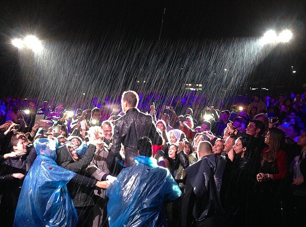 Michael Buble rain