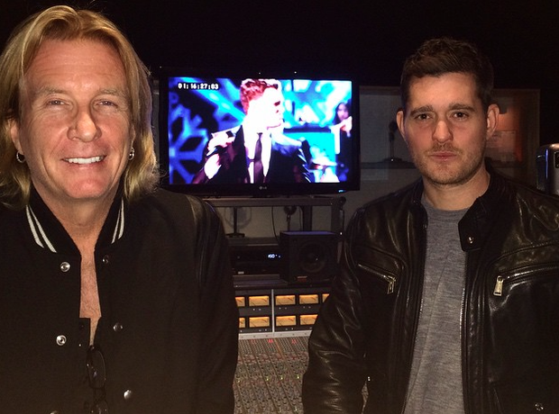 Michael Buble recording studio