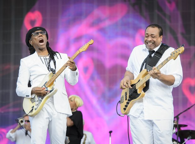 Nile Rogers & Jerry Barnes from Chic