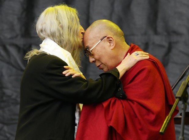 Patti Smith & the Dalai Lama