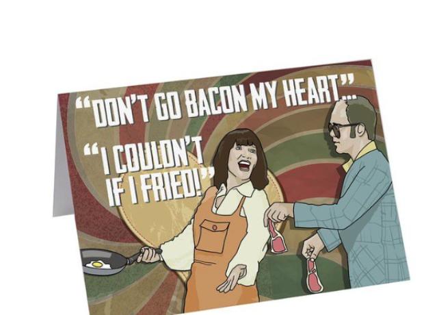 Elton John bacon