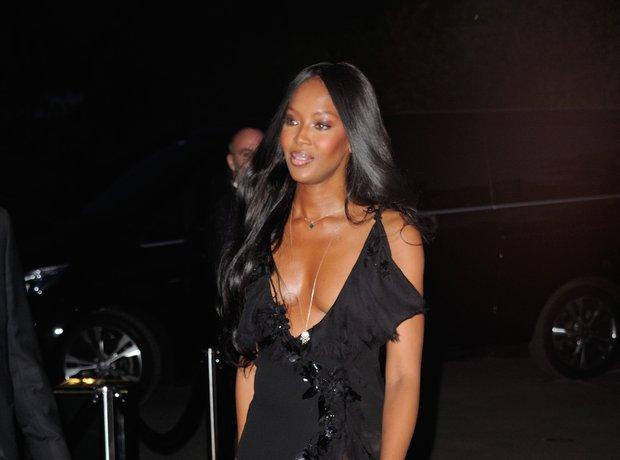 Naomi Campbell Paris Fashion Week