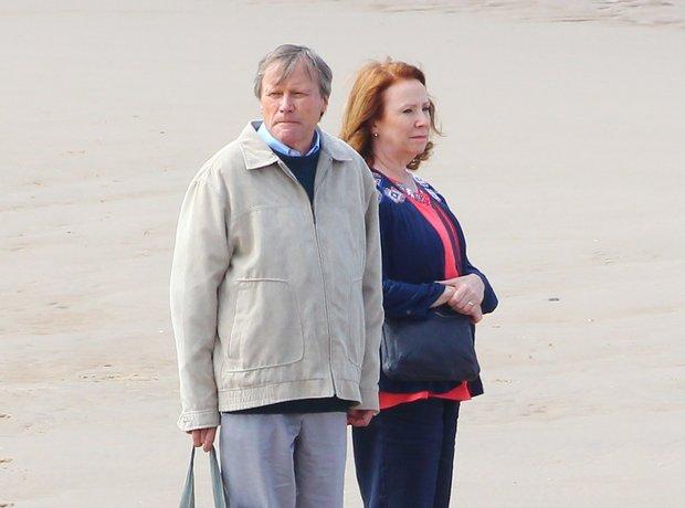 Roy Cropper (David Neilson) & Cathy Matthews (Mela