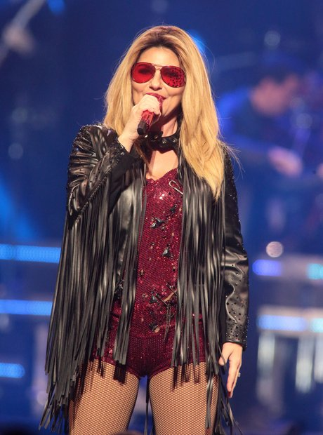 Shania Twain on stage