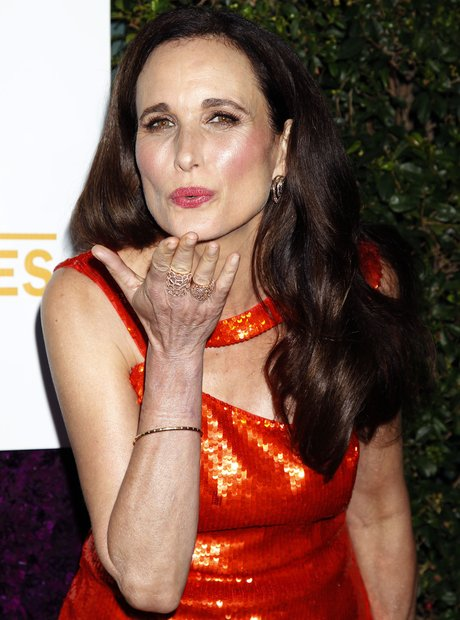 Andie MacDowell summer party