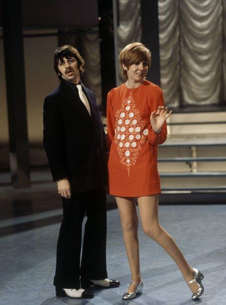Cilla Black and Ringo Star