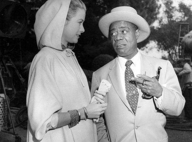 louis armstrong Grace Kelly