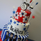 Image 5: music inspired beatles cake