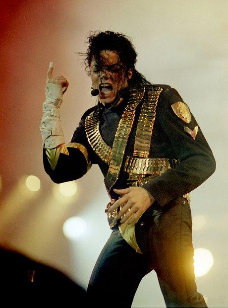 Michael Jackson on Dangerous tour 1993