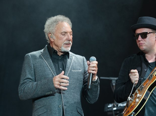 Tom Jones performs at V Feestival 2015