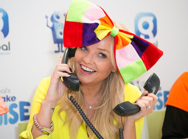 Emma Bunton Global's Make Some Noise 2015