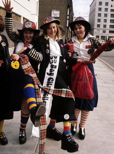 Bay City Rollers Fans 1975