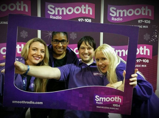 Smooth Radio at the Ski and Snowboard Show 2015
