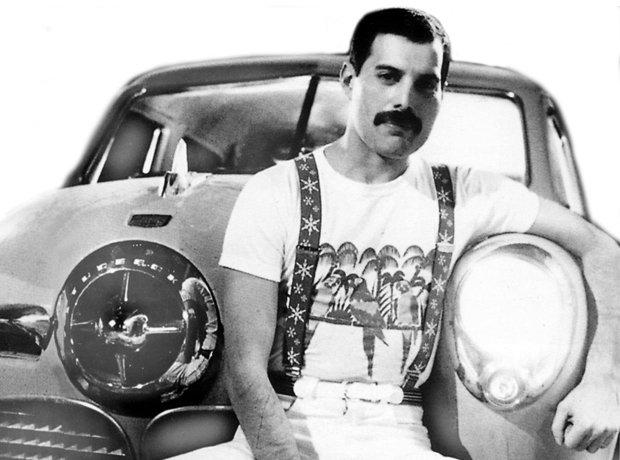Rock Stars Cars Freddie Mercury