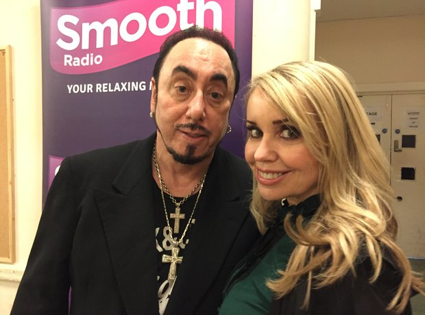 Jo Lloyd with David Gest