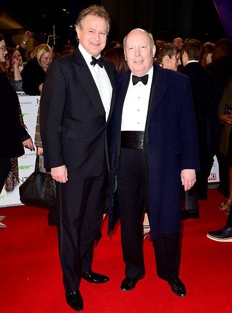 Hugh Bonneville and Julian Fellowes