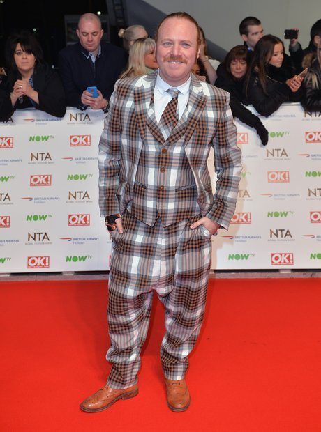 Leigh Francis National Television Awards 2016