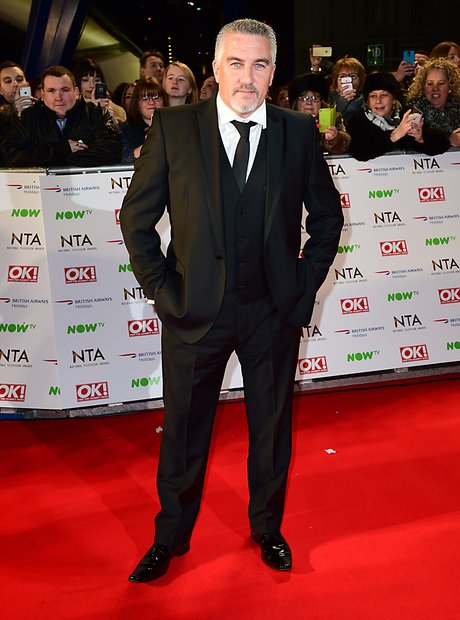Paul Hollywood National TV Awards 2016