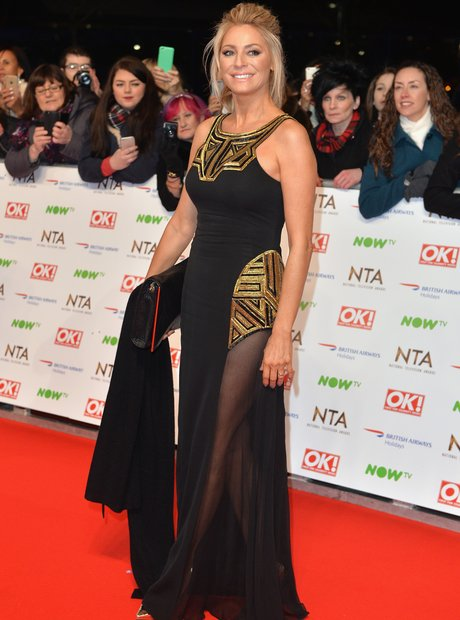 Tess Daly attends national tv awards 2016