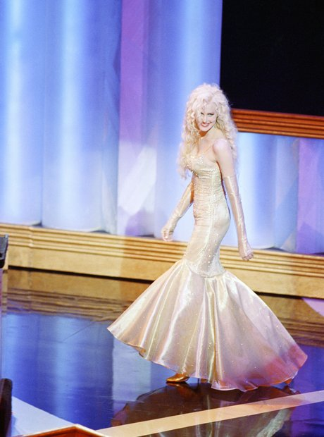 The Most Iconic Oscars Dresses Daryl Hannah