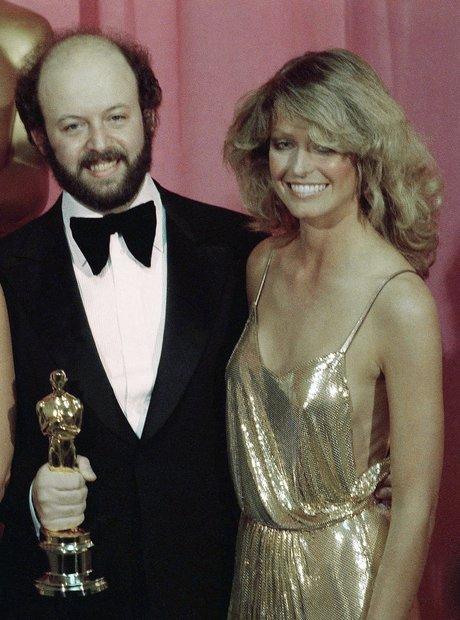 The Most Iconic Oscars Dresses Farrah Fawcett-Majo