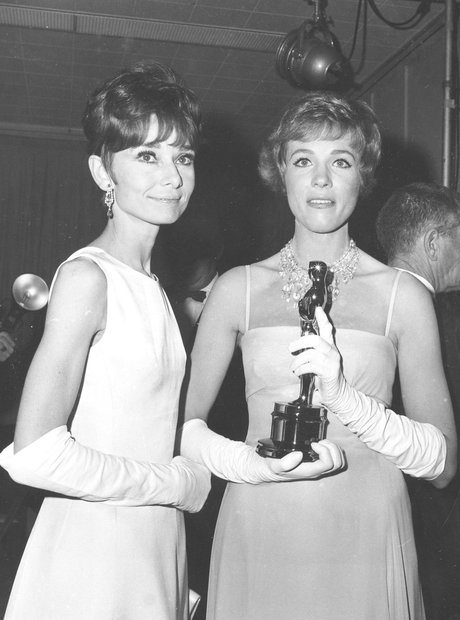 The Most Iconic Oscars Dresses Julie Andrews, Audr