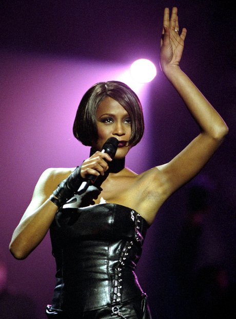 History of the BRIT's Whitney Houston