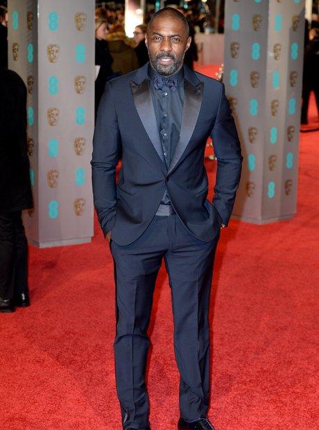 Idris Elba at the BAFTAs 2016