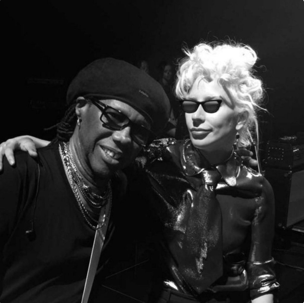 Lady Gaga Nile Rodgers Twitter