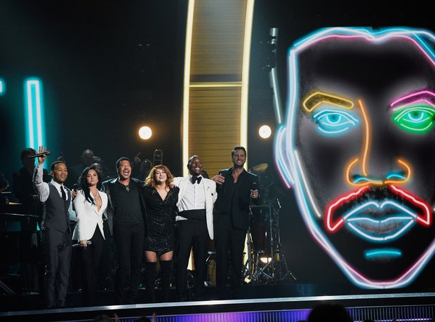 Lionel Richie and guests Grammy Awards 2016