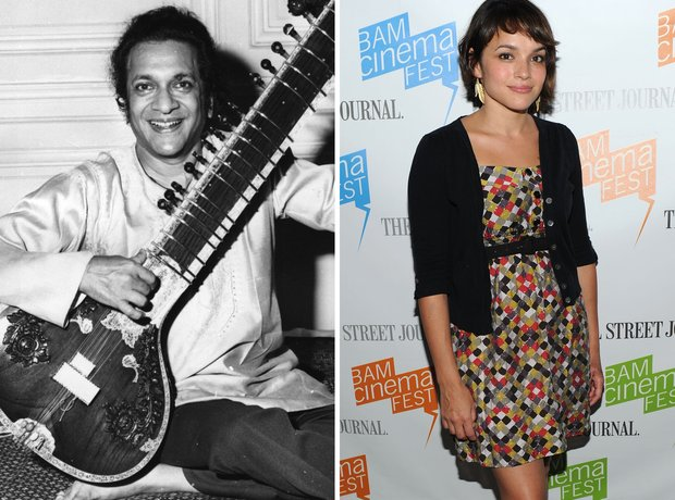 Ravi Shankar and Norah Jones
