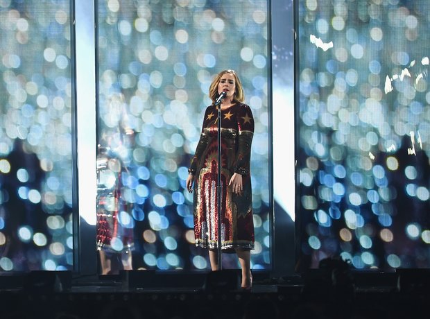 Adele Live Performance The Brits 2016