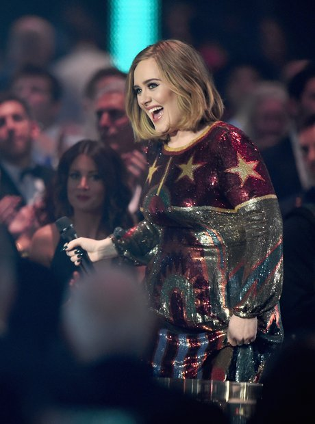 Adele Mastercard Album of the Year Award The Brits