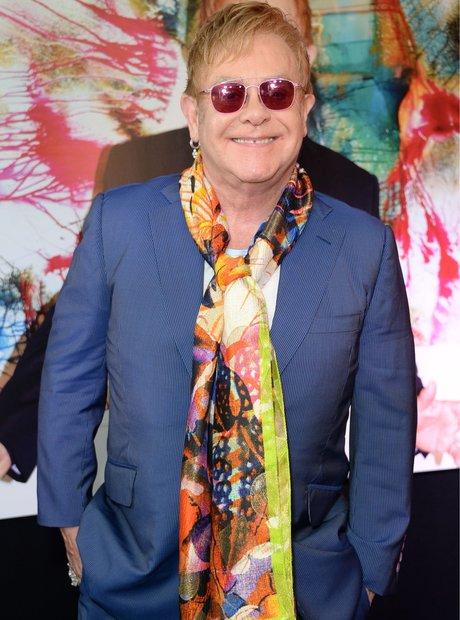 Elton John Wonderful Crazy Night Album Signing,