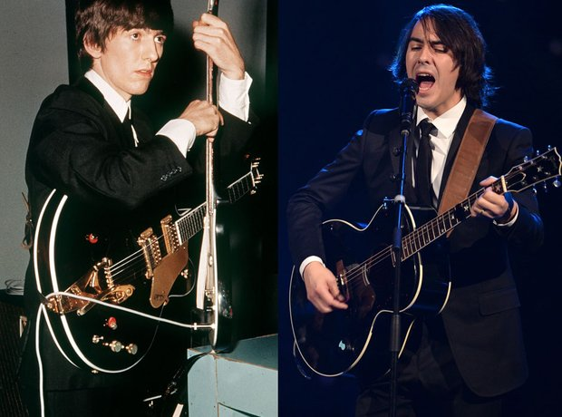 George And Dhani Harrison