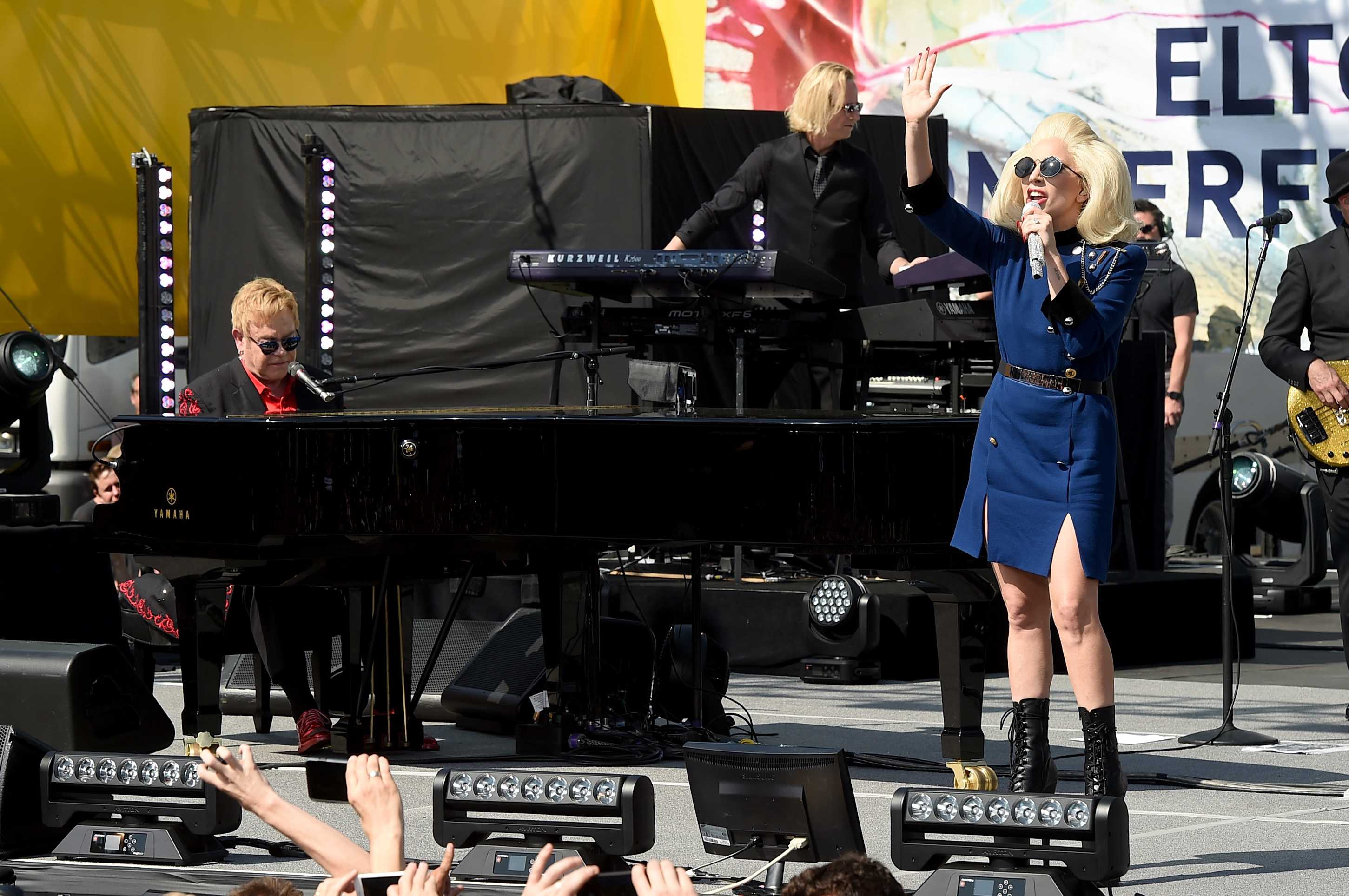 Elton John Lady Gaga Performance