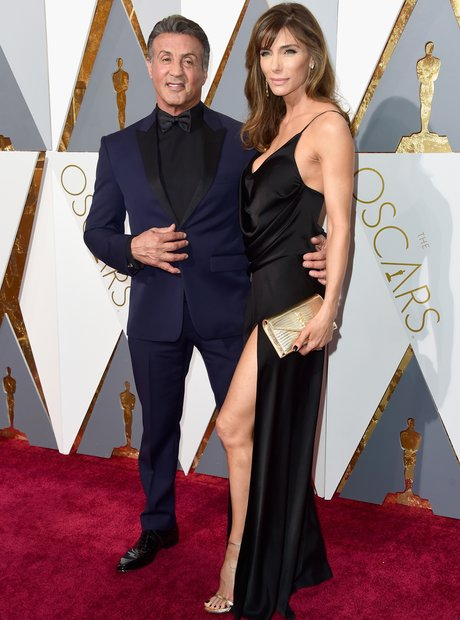 Sylvester Stallone and wife Jennifer Flavin