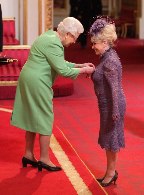 Barbara Windsor and the Queen