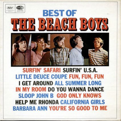 Best Of The Beach Boys Album Cover