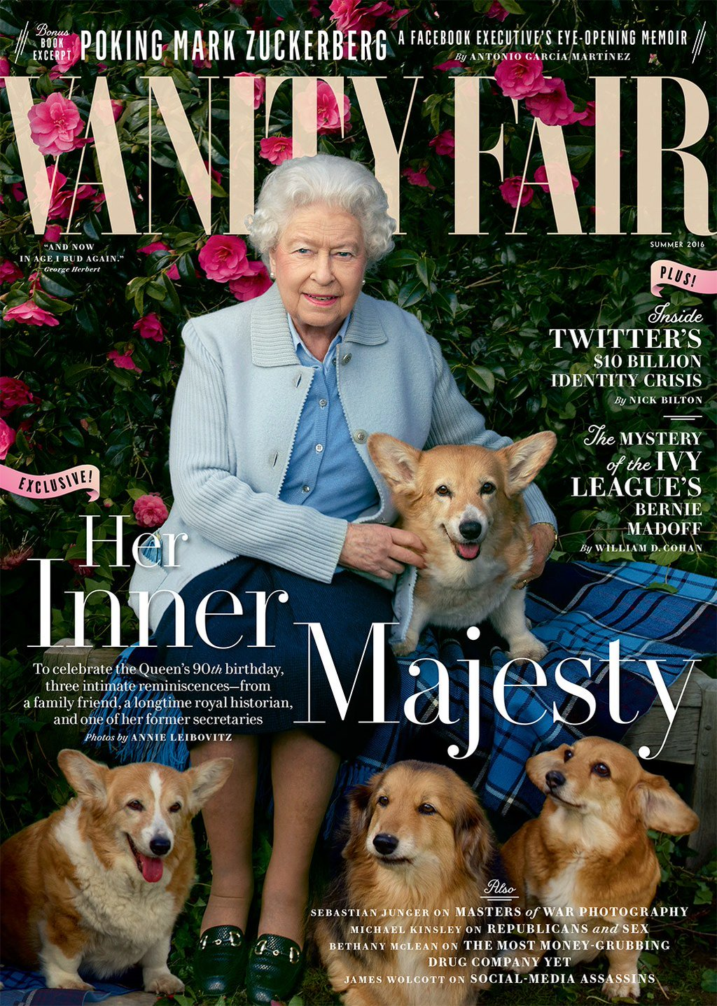 The Queen on Vanity Fair cover