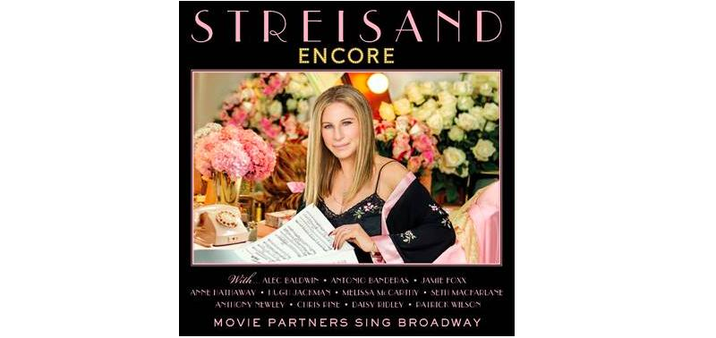 Barbra Streisand Encore album 2016