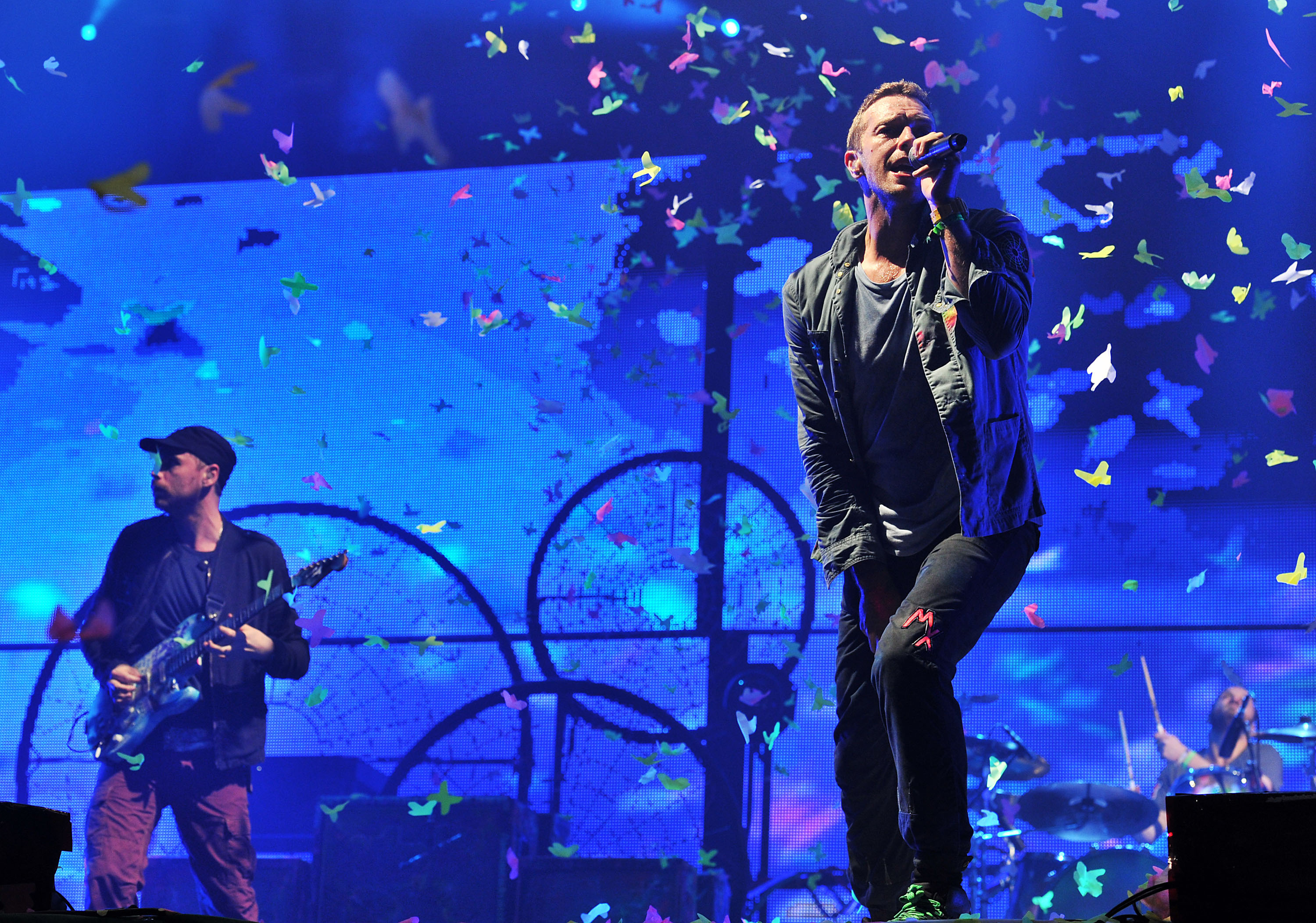 Coldplay Glastonbury 2011