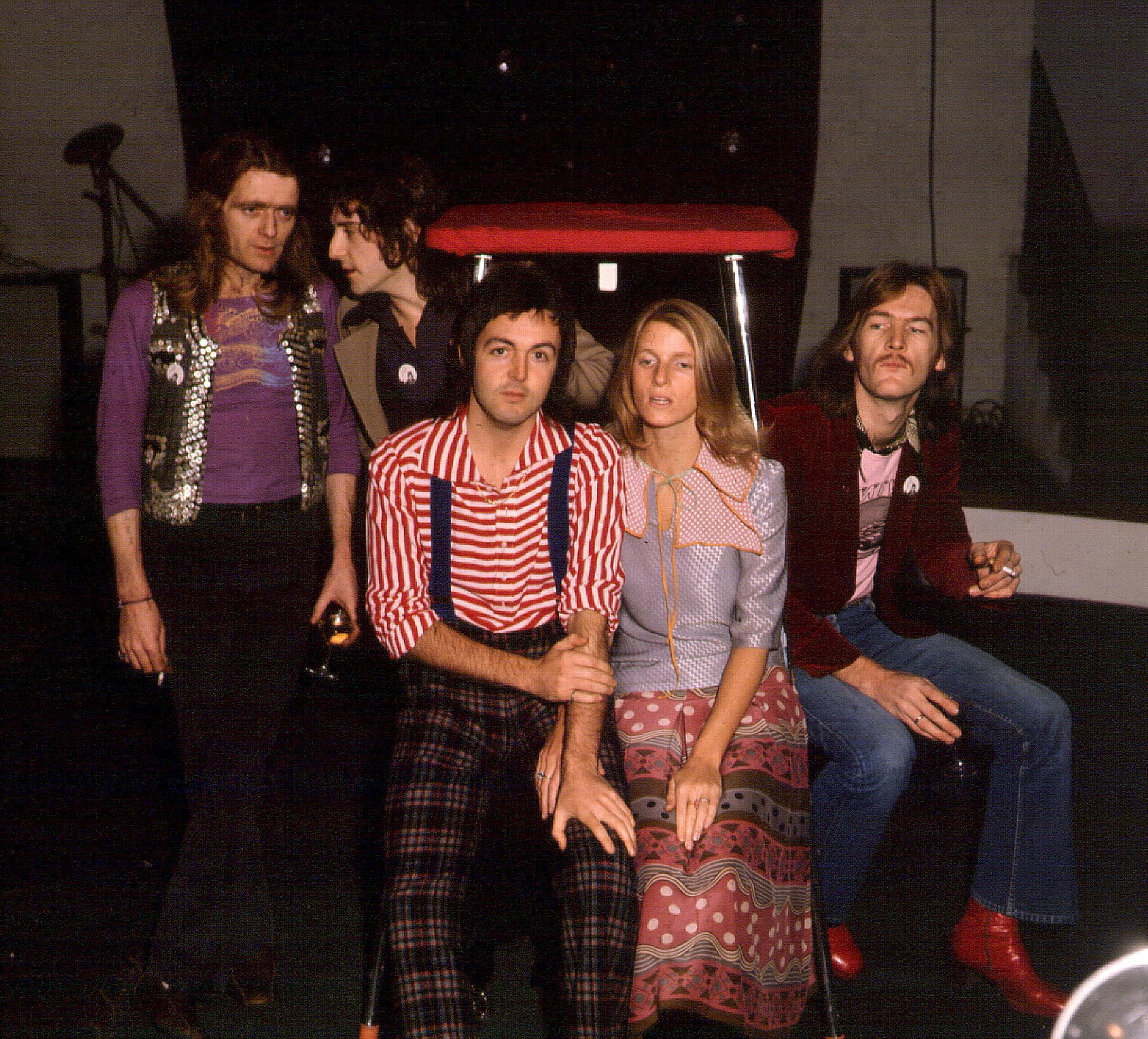 Henry McCullough, Paul McCartney and The Wings