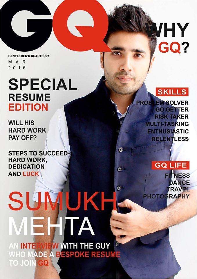 CV as a copy of GQ