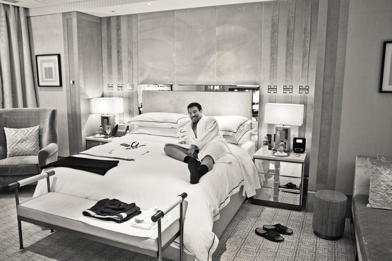 Lionel Richie Melbourne hotel